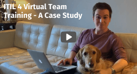 ITIL 4 Virtual Team Training - A Case Study