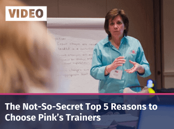 The Not-So-Secret Top 5 Reasons to Choose Pink's Trainers